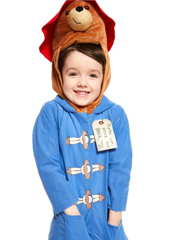Paddington Bear - Child Costume back