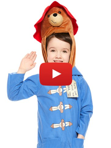Paddington Bear - Child Costume video