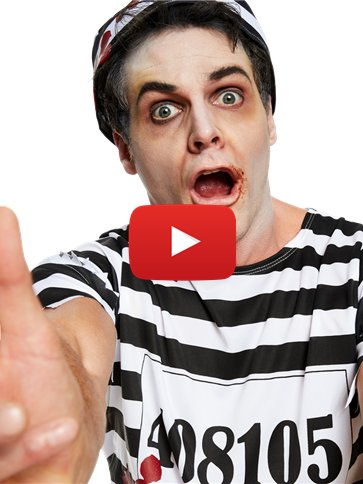 Zombie Convict - Adult Costume video