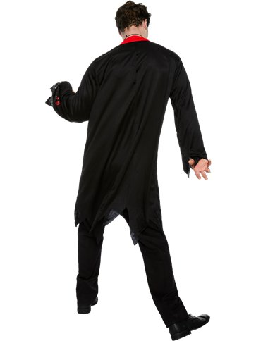 Zombie Vicar - Adult Costume left
