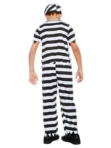 Zombie Convict Boy - Child Costume left