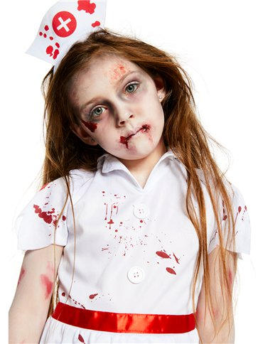 faa1a2952db31 Zombie Nurse Girl - Child Costume | Party Delights