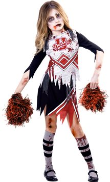 Zombie Cheerleader Girl - Child Costume