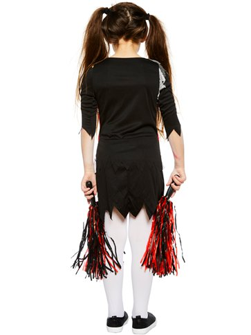 Zombie Cheerleader Girl - Child Costume left