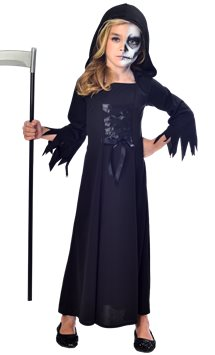 Grim Reaper Girl - Child Costume
