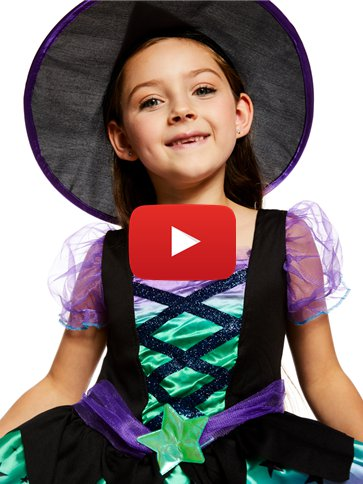 Spell Casting Cutie Witch - Child Costume video