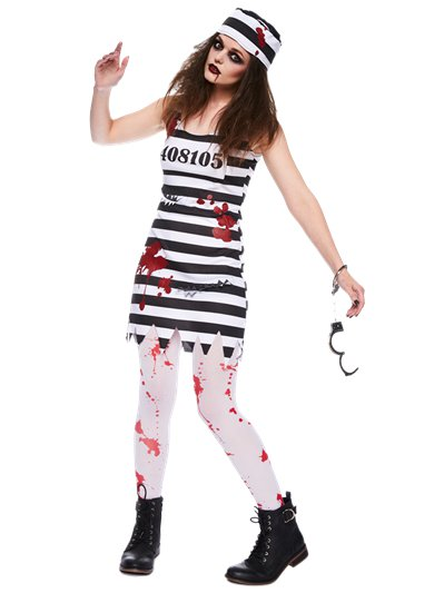 Zombie Convict - Adult Costume