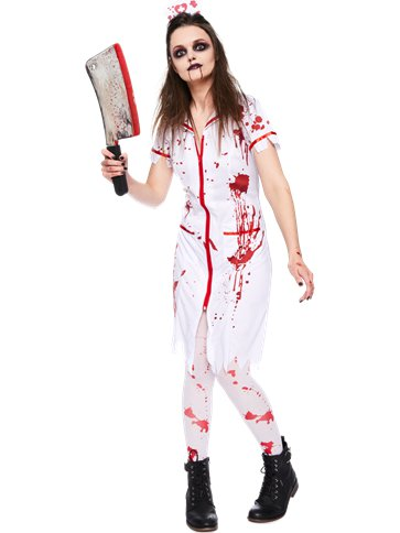 Zombie Nurse Adult Costume Party Delights