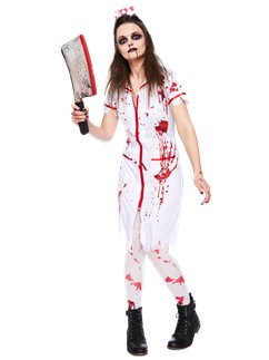 Zombie Nurse  sc 1 st  Party Delights & Womenu0027s Halloween Costumes | Party Delights