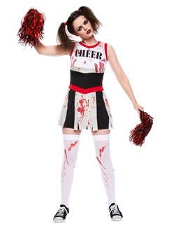 Zombie Cheerleader - Adult Costume