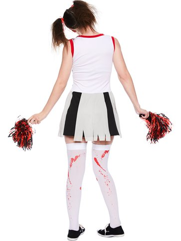 Zombie Cheerleader - Adult Costume left