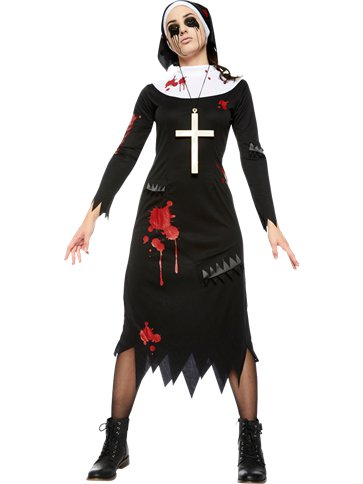 Zombie Nun - Adult Costume front