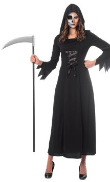 Grim Reaper Lady - Adult Costume