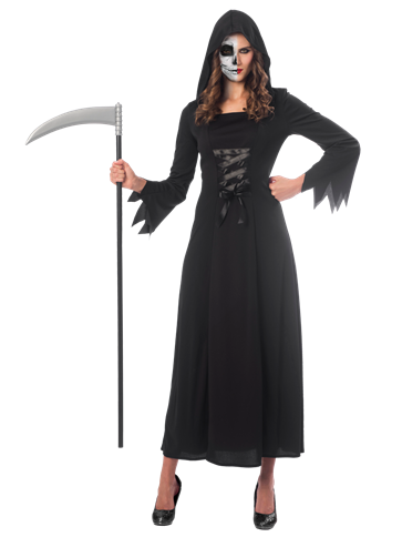 Grim Reaper Lady Adult Costume Party Delights