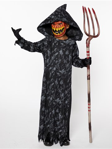 Pumpkin Reaper Boy - Child Costume front