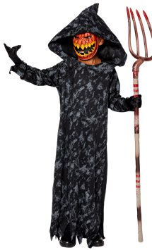 Pumpkin Reaper Boy - Child Costume