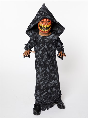Pumpkin Reaper Boy - Child Costume pla