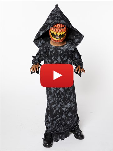 Pumpkin Reaper Boy - Child Costume video