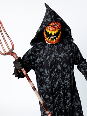 Pumpkin Reaper - Adult Costume back