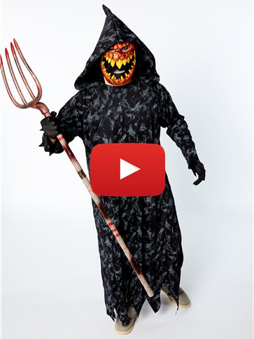 Pumpkin Reaper - Adult Costume video