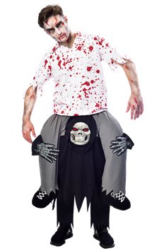 Piggy Back Grim Reaper - Adult Costume