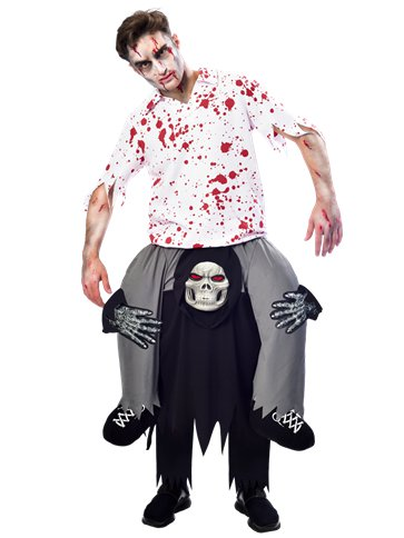 Piggy Back Grim Reaper - Adult Costume front