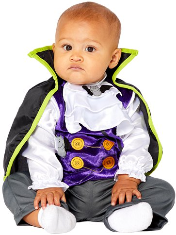 Dinky Dracula - Baby & Toddler Costume front