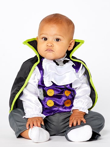 Dinky Dracula - Baby & Toddler Costume left