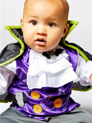 Dinky Dracula - Baby & Toddler Costume right