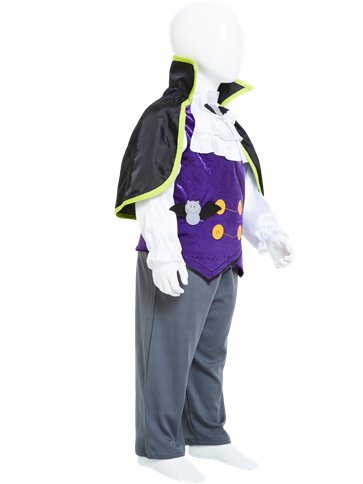 Dinky Dracula - Toddler & Child Costume back