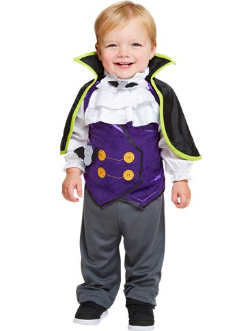Dinky Dracula - Toddler & Child Costume front