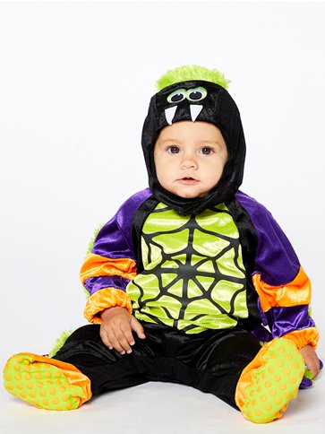 Little Spooky Spider - Baby and Toddler Costume back