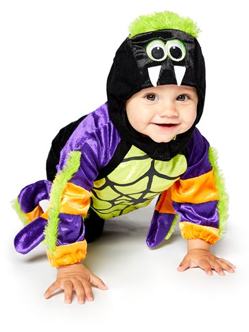 Little Spooky Spider - Baby and Toddler Costume front