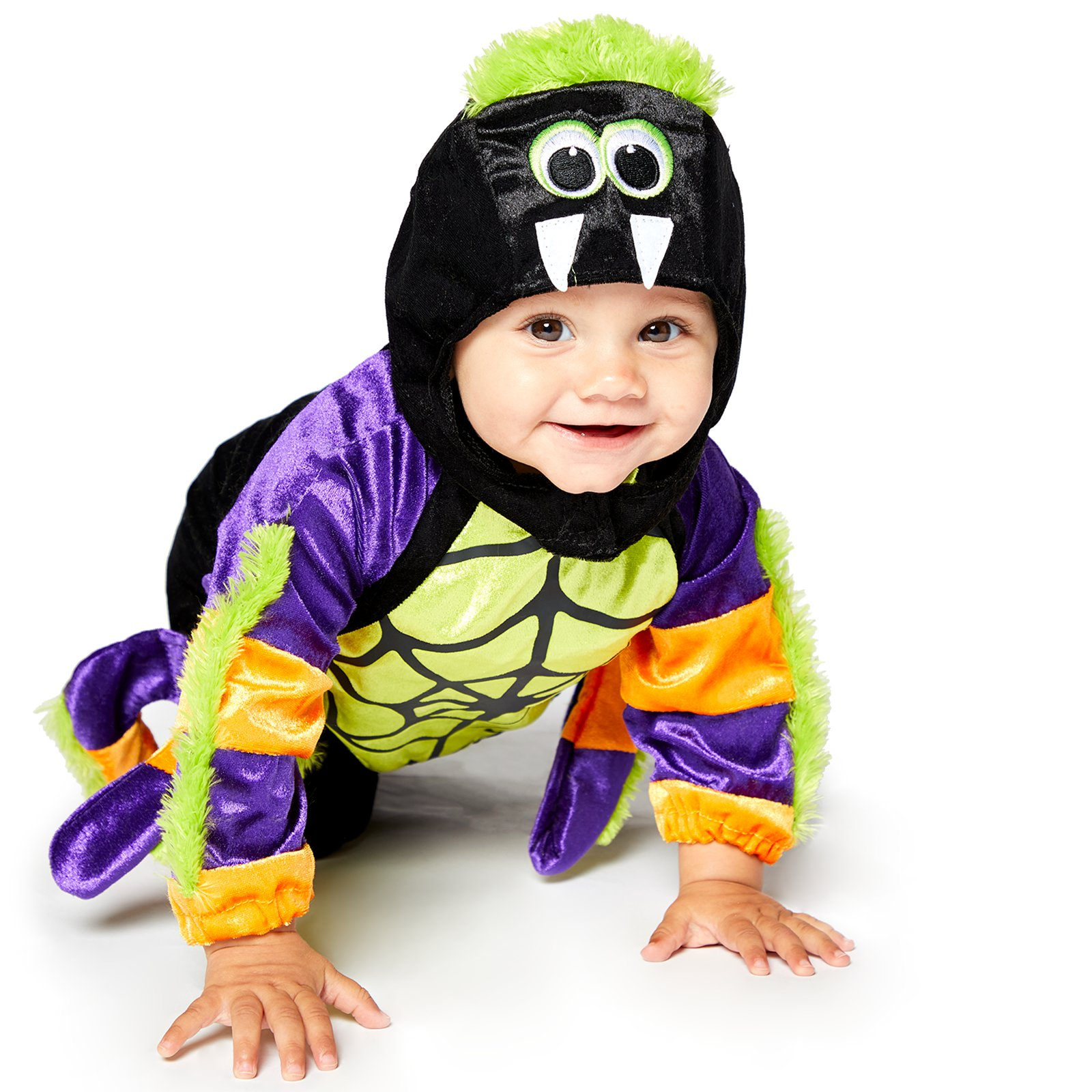 7c0224aea Halloween Baby   Toddler Little Spooky Spider Costume Boys Fancy ...