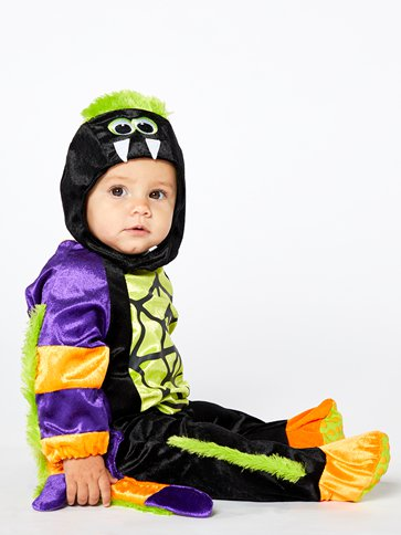 Little Spooky Spider - Baby and Toddler Costume side