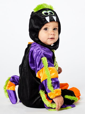 Little Spooky Spider - Baby and Toddler Costume top