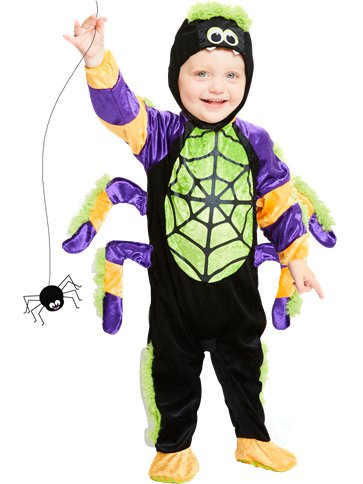 Little Spooky Spider - Toddler & Child Costume front