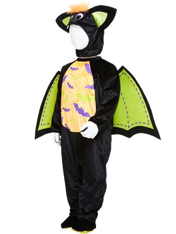 Iddy Biddy Bat - Child Costume back