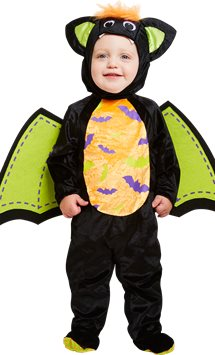 Iddy Biddy Bat - Toddler & Child Costume