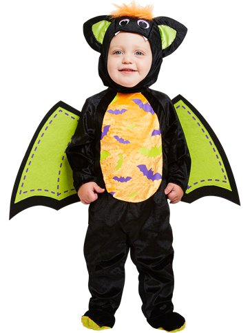 Iddy Biddy Bat - Child Costume front