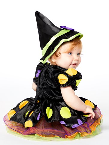 Cauldron Cutie - Baby and Toddler Costume left