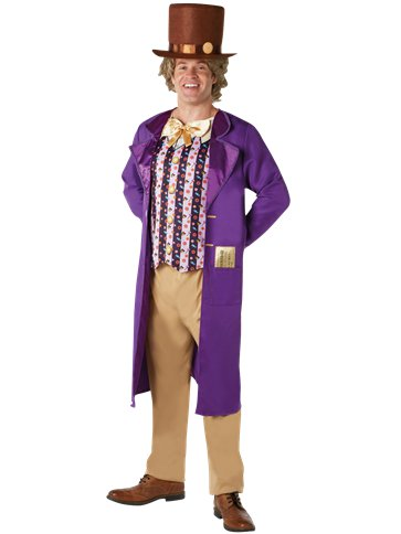 Willy Wonka - Adult Costume front
