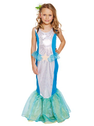 Mermaid Dress - Child Costume front