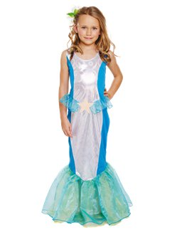 Mermaid Dress - Child Costume