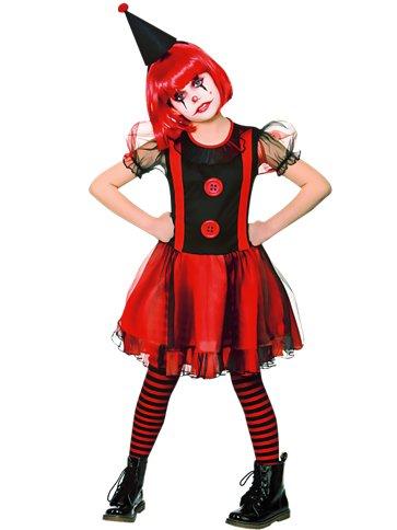 Freak Clown Girl Child Costume Party Delights