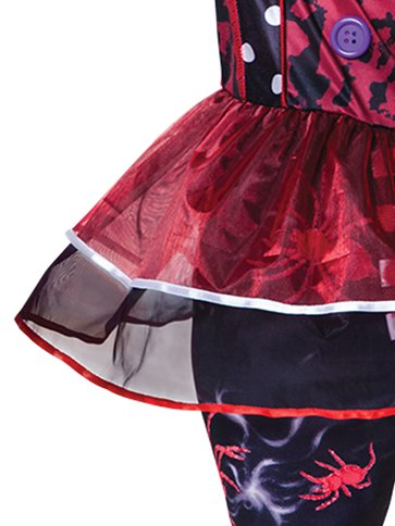 Halloween Clown Girl - Child Costume back