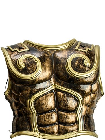 Spartan Warrior Chest Plate - Adult Costume back