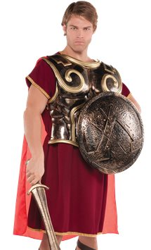 Spartan Warrior Chest Plate - Adult Costume