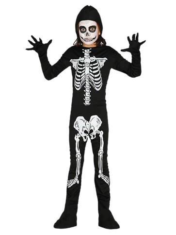 Skeleton - Child Costume front