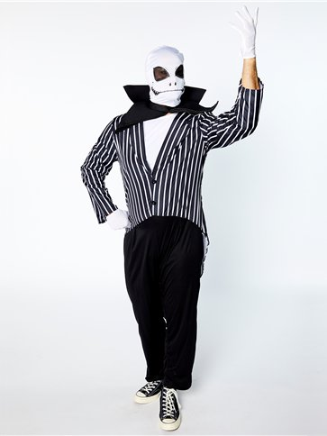 Mr Skeleton - Adult Costume back